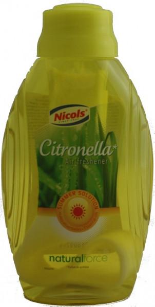 Nicols - Lufterfrischer Air Freshener 375ml Dochtflasche Citrus