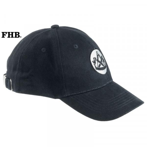 FHB Tim Zimmermann-Cap 91110 Basecape schwarz