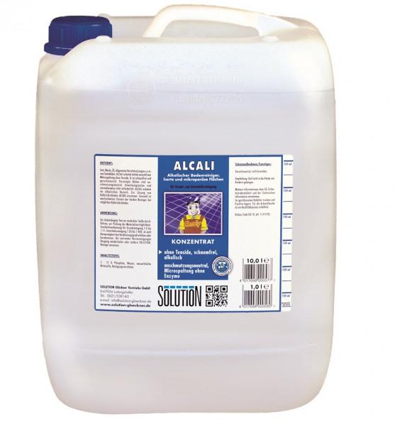 SOLUTION Glöckner - Alcali Bodenreiniger 10 Liter
