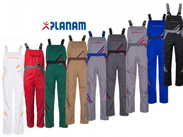 Planam Highline Herren-Latzhose Größe 24 - 118 in 9 Farben
