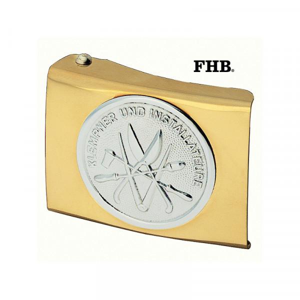 FHB Florenz Koppelschloss Arbeitsgürtel Gürtel Koppel -Klempner- 87040 Gold