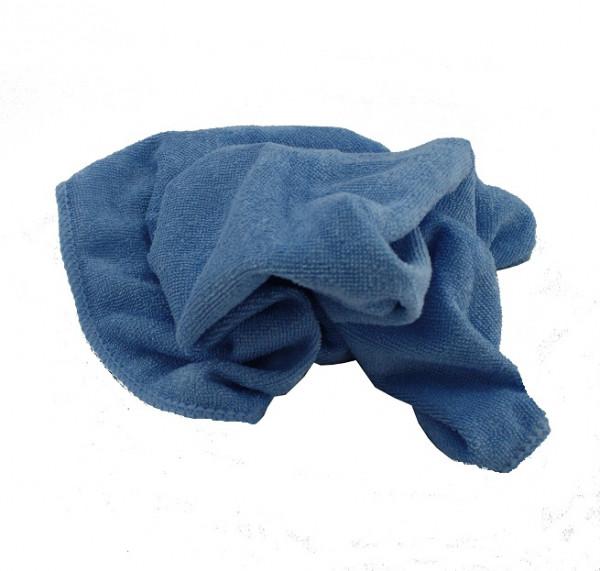 Microfasertuch blau 40 x 40 cm