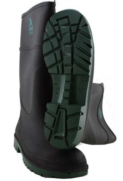 S5 Comforto Sicherheitsstiefel Gummistiefel mit Stahlkappe 00150144 - Größe 49 schwarz
