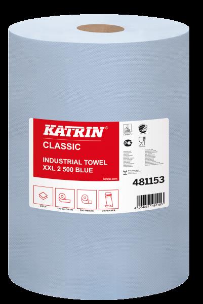 Katrin Classic XXL2 laminated Putzpapierrolle - 481153