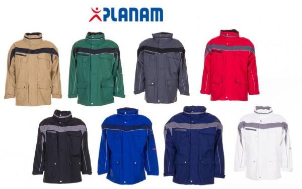 Planam Plaline Allwetterjacke Arbeitsjacke Größe XS - 4XL, in 8 Farben