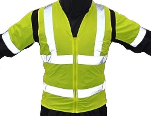 Warnweste Motorrad Sicherheitsweste Reflektorweste neon gelb Gr L XL XXL 3XL