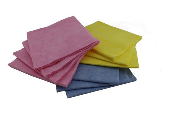 Vlies Allzwecktuch/Spültuch farblich sortiert