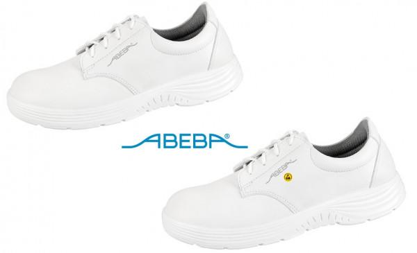 ABEBA X-Light 711126 7131126 ESD Berufsschuh Halbschuh Küchenschuh Arbeitsschuh weiß