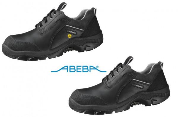 ABEBA Anatom 2156|32156 Sicherheitsschuh S2 ESD Halbschuh Küchenschuh Arbeitsschuh schwarz