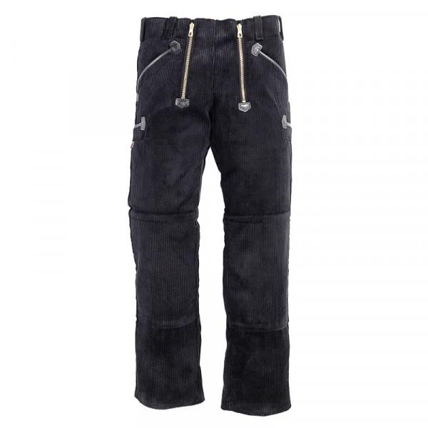 FHB Kai Zunfthose Arbeitshose Trenkercord 40088 Größe 23 - 114, in schwarz