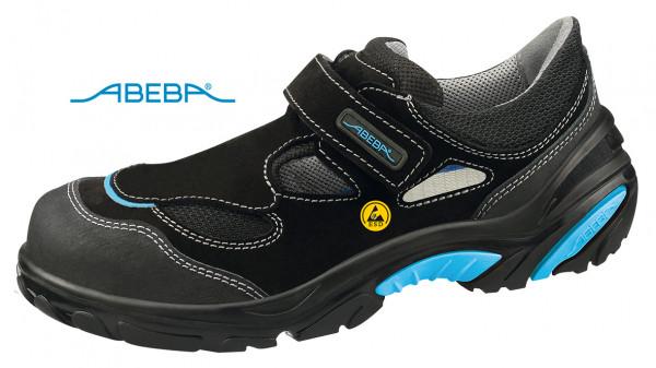 ABEBA Crawler Alu 4541 34541 ESD Sicherheitsschuh S1 Sandale Kochschuh Küchenschuh schwarz