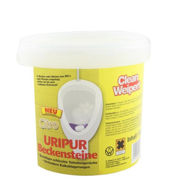 Clean Weipert Uripur Beckensteine Citro 1 Kg
