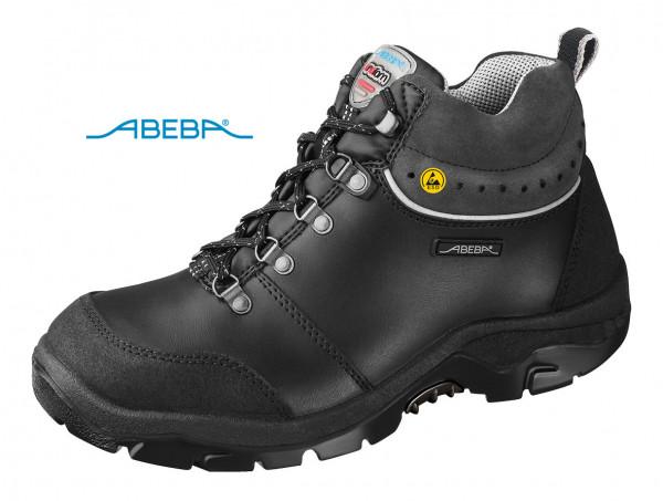 ABEBA Anatom 2268 32268 Sicherheitsschuh S3 ESD Knöchelschuh Stiefel Arbeitsstiefel schwarz