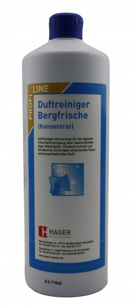 Duftreiniger Bergfrische 1 Liter