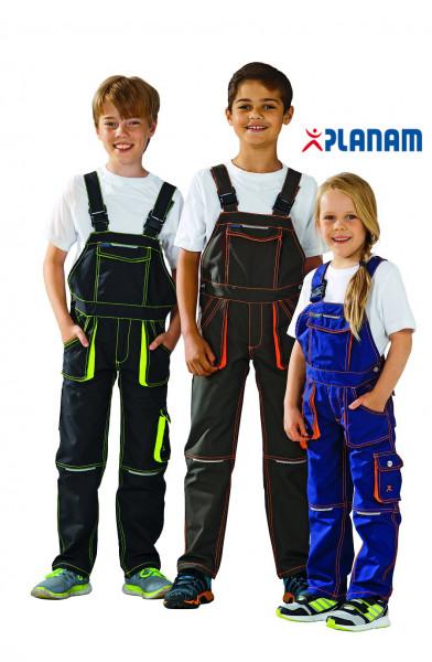 Planam Junior Kinder-Latzhose Größe 86 - 176, in 3 Farben