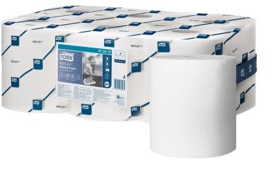 Tork (M4) Reflex™ Mehrzweck Papierwischtücher 1-lagig, weiß, 6 Rollen - 473412