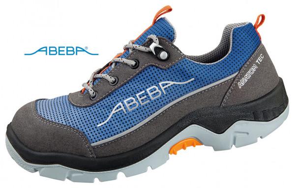 ABEBA Anatom 2252|32252 Sicherheitsschuh S3 ESD Halbschuh Arbeitsschuh blau