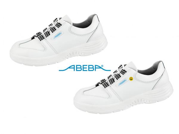 ABEBA X-Light 711133 7131133 ESD Berufsschuh Halbschuh Küchenschuh Arbeitsschuh weiß