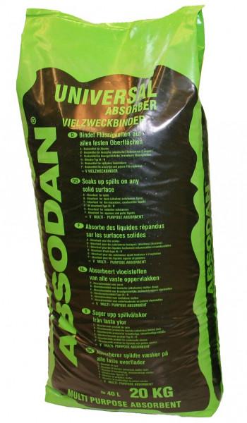 Ölbindemittel Absodan Universal III/R Körnung 1 - 3mm, 20 Kg Sack - 72000891