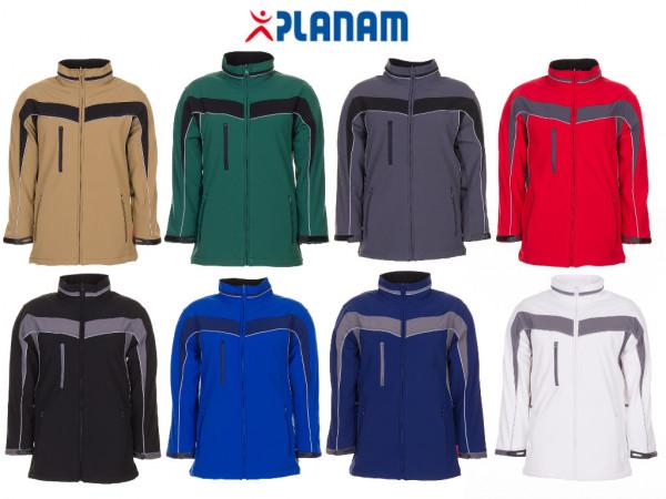 Planam Plaline Softshelljacke Arbeitsjacke Größe XS - 4XL, in 8 Farben