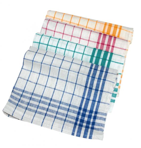 Meiko Geschirrhandtuch aus 100% Baumwolle 50 x 70cm blau