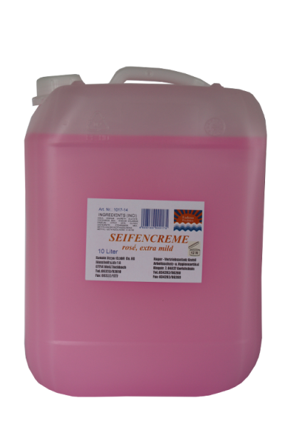 Hager - Cremeseife Rose, extra mild 10 Liter
