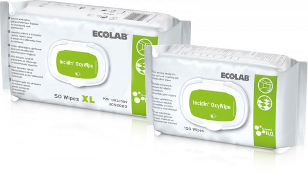 Incidin OxyWipe 50 XL Desinfektionstücher