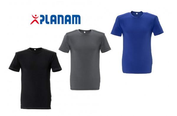 Planam Durawork T-Shirt atmungsaktives Arbeitsshirt Größe XS - 3XL, in 3 Farben