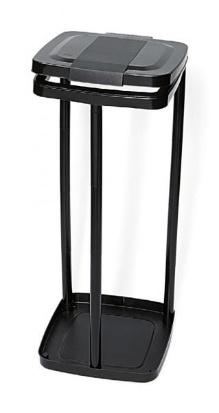 Nölle - Müllsackständer Kunststoff, schwarz - 738600