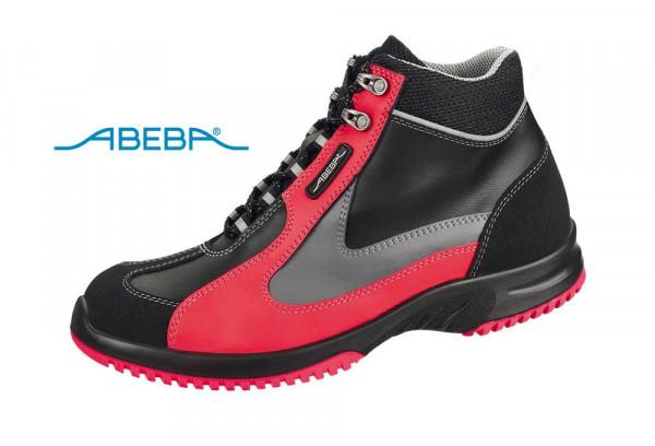 ABEBA UNI6 1792 | 31792 ESD Sicherheitsschuh Arbeitsschuh S2 schwarz/rot