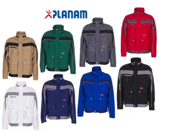 Planam Plaline Bundjacke Arbeitsjacke Größe 24 - 110, in 8 Farben