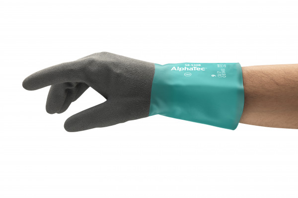 Ansell - Handschuh AlphaTec - 58-530B - schwarzes Acrylfutter