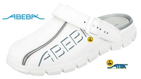 ABEBA Dynamic 7310|37310 ESD Berufsschuh Clog weiß