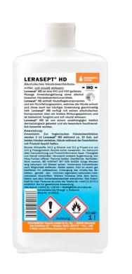 Lerasept® HD Händedesinfektionsmittel 1000ml Flasche