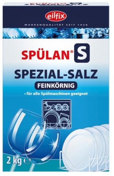 Eilfix - Spülan Regeneriersalz fein 6 x 2 Kg