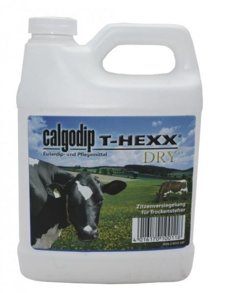 Calvatis Calgodip T-Hexx Dry 0,95 Liter Zitzenversiegelungsmittel