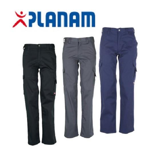 Planam Casual Easy-Bundhose Größe 42 - 64, in 3 Farben