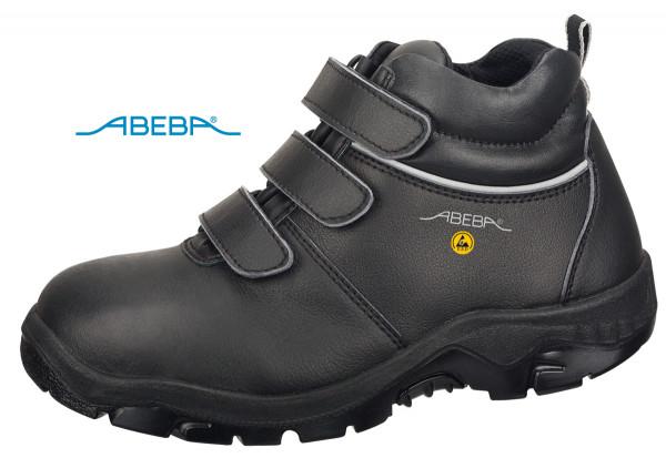 ABEBA Anatom 2281|32281 Sicherheitsschuh S3 ESD Knöchelschuh Stiefel Arbeitsstiefel schwarz