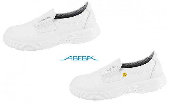 ABEBA X-Light 711128|7131128 ESD Berufsschuh Slipper Küchenschuh Arbeitsschuh weiß