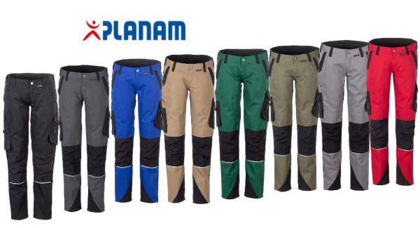 Planam Norit Damen Bundhose Arbeitshose Größe 34 - 54 in 8 Farben