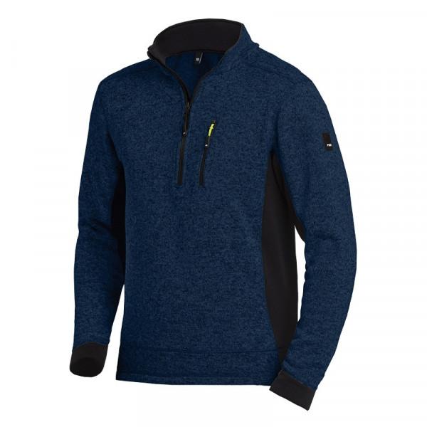 FHB Patrick Strick-Fleece-Troyer Pullover 79597 Größe XS - 3XL, in 3 Farben