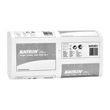 Katrin Plus One-Stop Handtuchpapier M2, 2-lagig,weiß, 25,5 x 23,5cm - 345201