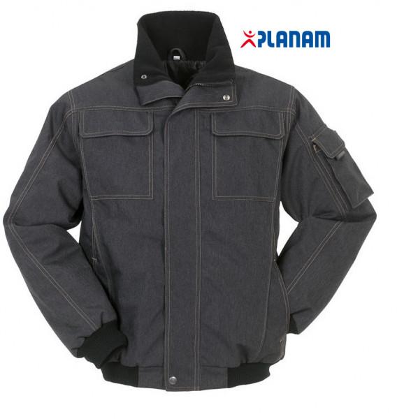 Planam City Blouson Jacke Outdoor Arbeitsjacke Gr. XS - 4XL, in Nachtblau
