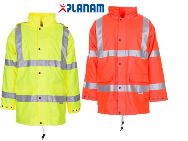 Planam Warnschutz Parka 2053 Jacke Arbeitsjacke Größe S - 4XL, in 2 Farben
