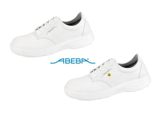 ABEBA X-Light 711026 7131026 ESD Sicherheitsschuh S2 Halbschuh Stahlkappe Küchenschuh Arbeitsschuh weiß