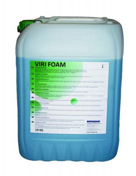 Novadan - Viri Foam schäumendes Euterreinigungsmittel 19 Kg Kanister