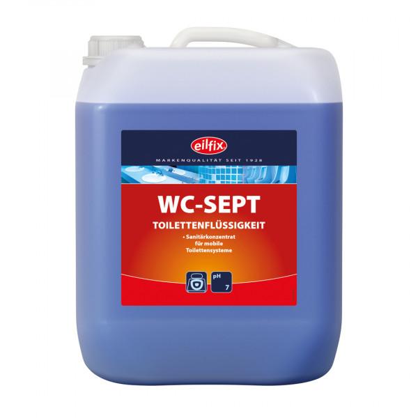 Eilfix - WC-Sept Kombi-Sanitärkonzentrat für transportable Toilettensysteme Camping Toilette 10 Lite