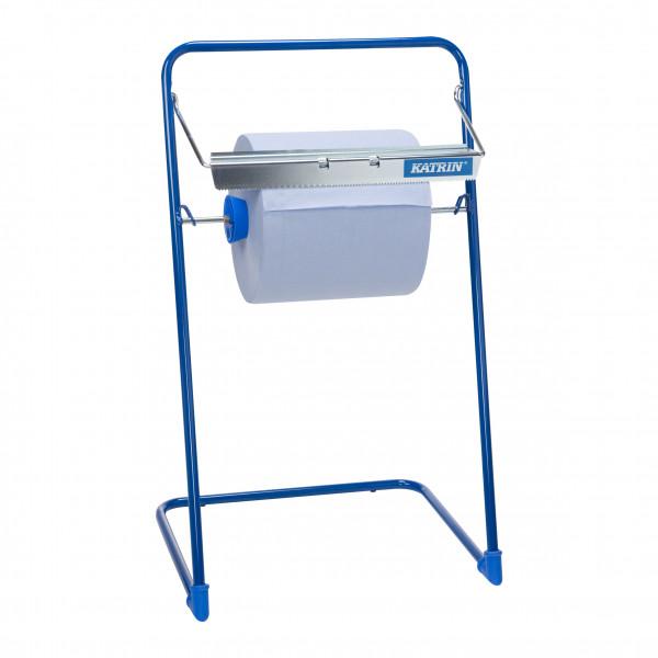 Katrin Putzpapierspender blau, metall - 709141