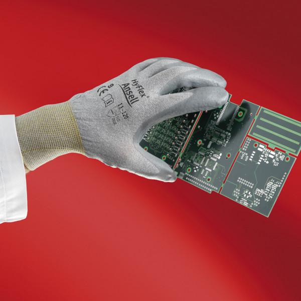 Ansell Handschuh ESD HyFlex® 11-120 Größe 6 - 10