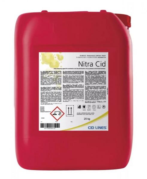 Cid Lines - Nitra Cid phosphatfreies Reinigungsmittel 25 Kg Kanister